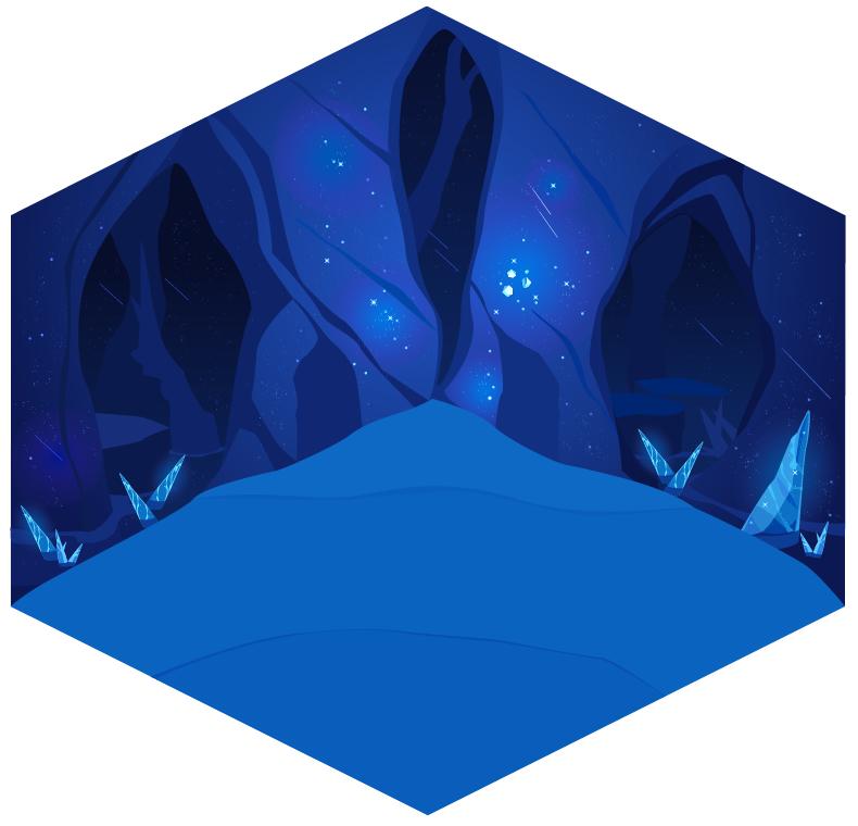 星の洞窟壁紙