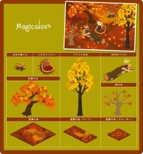 秋の植物シリーズ+
