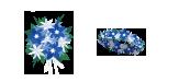 青い花 装備品