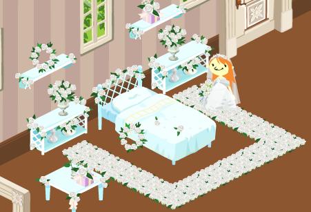 純潔の花 家具