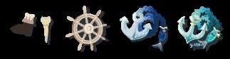 海賊の銀貨 合成アイテム