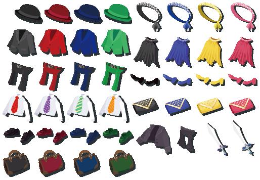 聖なる蹄 装備品
