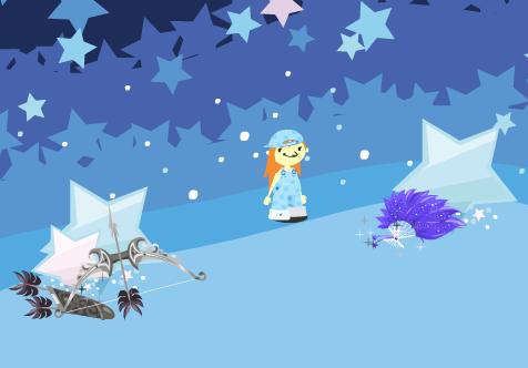 織姫の扇子と影天帝の弓