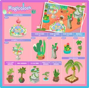 観葉植物+多肉植物シリーズ