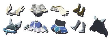 戦霊の布 装備品