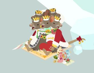 ネズミの王様とネズミ