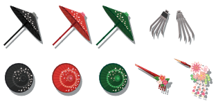 忍者のクナイ 装備品