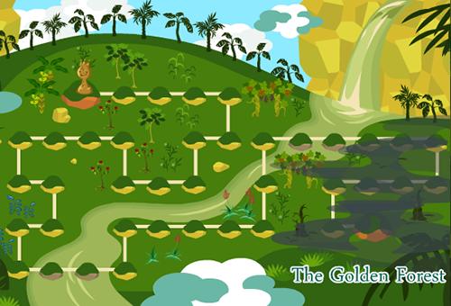 黄金の密林マップ