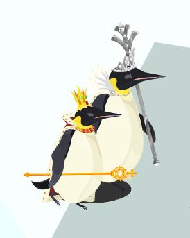 ジャイアントペンギン夫妻
