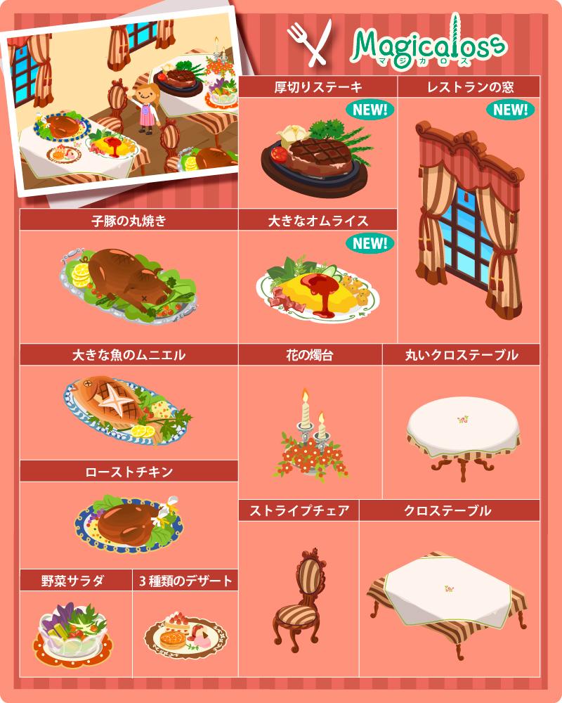 レストランシリーズ+