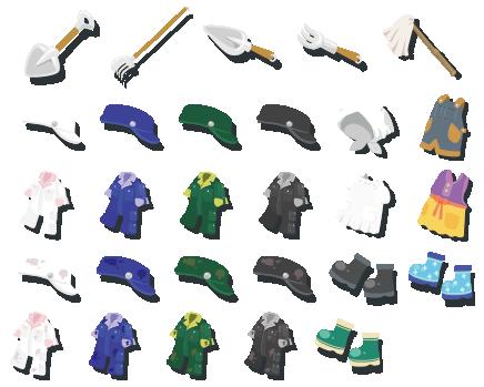 雨の実 装備品