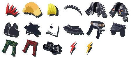 ロック革 装備品