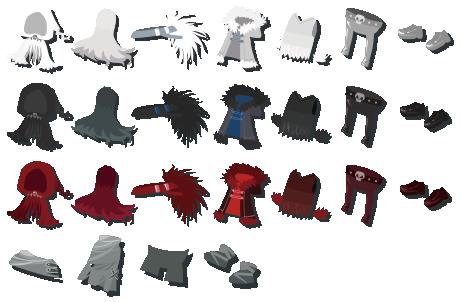 獅子の爪 装備品