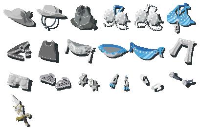 鋼鉄の鋲 装備品